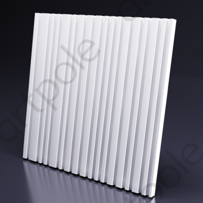 Гипсовая 3D панель BARCODE 600x600x25 мм