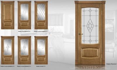 Дверь Мебель массив Антик