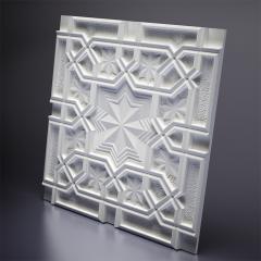 Гипсовая 3D панель SULTAN 600x600x27 мм