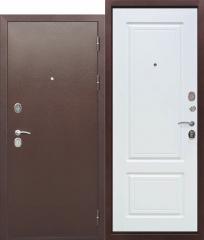 Входная металлическая дверь Ferroni 10 см ТОЛСТЯК РФ Медный антик БЕЛЫЙ ЯСЕНЬ