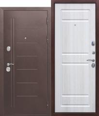 Входная дверь Ferroni 10 см Троя Антик Белый Ясень