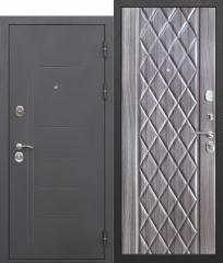 Входная дверь Ferroni 10 см Троя Муар Палисандр темный