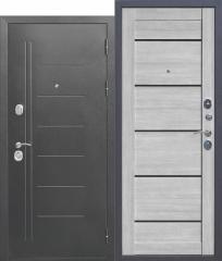 Дверь Ferroni 10 см Троя Серебро Дымчатый дуб