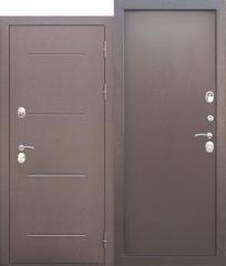 Входная дверь Ferroni c ТЕРМОРАЗРЫВОМ 11 см ISOTERMA Медный антик Металл/Металл