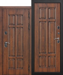 Входная морозостойкая дверь Ferroni c ТЕРМОРАЗРЫВОМ 13 см Isoterma МДФ/МДФ Грецкий орех