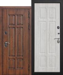 Входная морозостойкая дверь Ferroni c ТЕРМОРАЗРЫВОМ 13 см Isoterma МДФ/МДФ Сосна белая