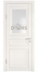 Дверь межкомнатная DO-PG4 Белый ясень/Ромб