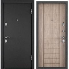 Дверь TOREX X5 Темно-серый букле графит / Дуб серый евро
