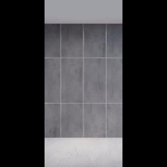 Панель Lattice камень темный 400*1000