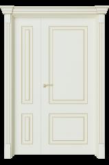 Двустворчатая дверь Венсен 1 Ажур
