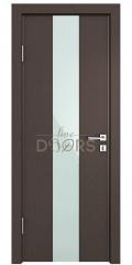 Дверь межкомнатная DO-510 Бронза/стекло Белое