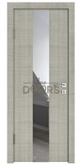 Дверь межкомнатная DO-510 Серый дуб/Зеркало