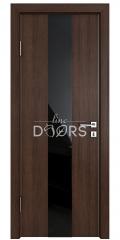 ШИ дверь DO-610 Мокко/стекло Черное