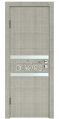 ШИ дверь DO-613 Серый дуб/Снег