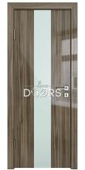 Дверь межкомнатная DO-510 Сосна глянец/стекло Белое