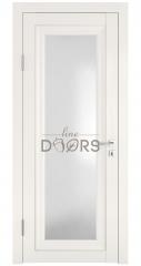 Дверь межкомнатная DO-PG6 Белый ясень/Ромб