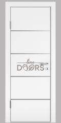 Дверь межкомнатная DG-505 Белый бархат
