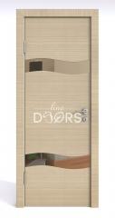 ШИ дверь DO-603 Неаполь/зеркало Бронза