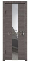 Дверь межкомнатная DO-510 Ольха темная/Зеркало