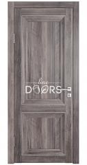 Дверь межкомнатная DG-PG1 Орех седой темный
