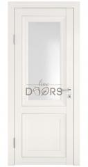Дверь межкомнатная DO-PG2 Белый ясень/Ромб