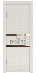 ШИ дверь DO-613 Ива светлая/зеркало Бронза