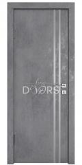Дверь межкомнатная DG-506 Бетон темный