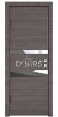 Дверь межкомнатная DO-512 Ольха темная/Зеркало