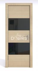 Дверь межкомнатная DO-508 Неаполь/стекло Черное