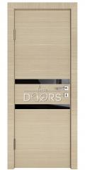 Дверь межкомнатная DO-513 Неаполь/стекло Черное