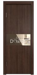 ШИ дверь DO-601 Мокко/зеркало Бронза