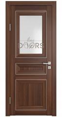 Дверь межкомнатная DO-PG4 Орех тисненый/Ромб