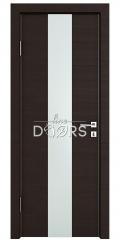 ШИ дверь DO-610 Венге горизонтальный/Снег