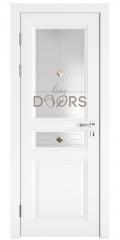 Дверь межкомнатная DO-SOFIA1 Белый бархат