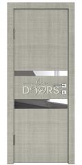 ШИ дверь DO-612 Серый дуб/Зеркало