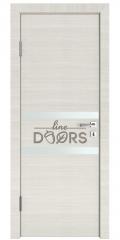 Дверь межкомнатная DO-513 Ива светлая/Снег