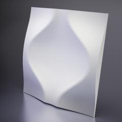Гипсовая 3D панель SOUL 600x600x52 мм