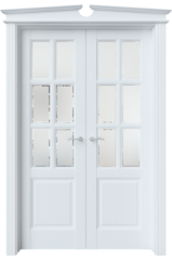 Двустворчатая дверь S14