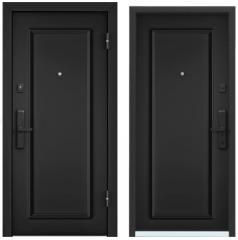 Дверь TOREX CYBER ЛКП глубокий чёрный / ЛКП глубокий чёрный