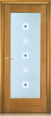 Дверь мебель массив Капри О Африканский орех
