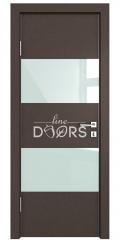 ШИ дверь DO-608 Бронза/стекло Белое