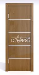 Дверь межкомнатная DG-505 Анегри темный