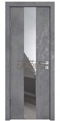 ШИ дверь DO-610 Бетон темный/Зеркало