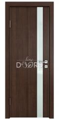 ШИ дверь DO-607 Мокко/стекло Белое