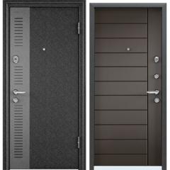 Дверь TOREX SUPER OMEGA 08 Черный шелк SP-7G / Молочный шоколад
