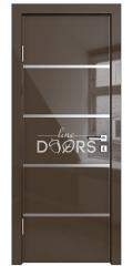 ШИ дверь DG-605 Шоколад глянец