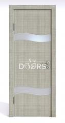 ШИ дверь DO-603 Серый дуб/Снег