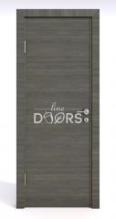 Дверь межкомнатная DG-500 Ольха темная