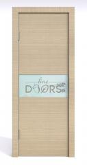 ШИ дверь DO-601 Неаполь/стекло Белое