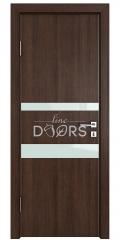 ШИ дверь DO-612 Мокко/стекло Белое
